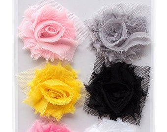 CLEARANCE!  Bella Rouge - Frayed Flowers