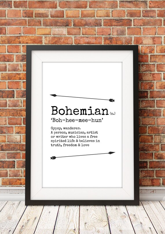 bohemian meaning jpeg a4 letter 8x10 instant
