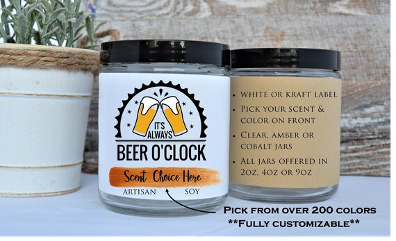 Beer Gift Idea Funny For Boyfriend 21 Birthday Candles