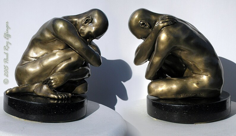 Original Bronze Sculpture Reflection by Paul Ray image 0