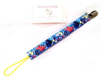 Finding Nemo Universal Pacifier Clip - To keep that binky safe!