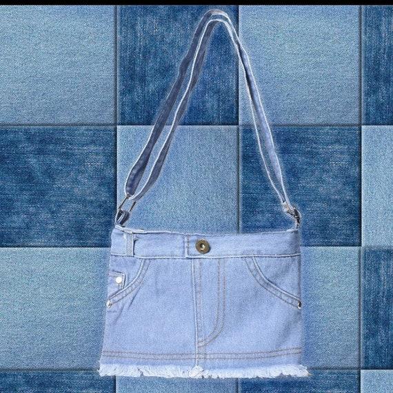 Y2K Little Denim Mini Shoulder Bag *FREE SHIPPING*
