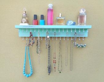 Jewelry Organizer With Shelf Necklace Holder Bracelet and