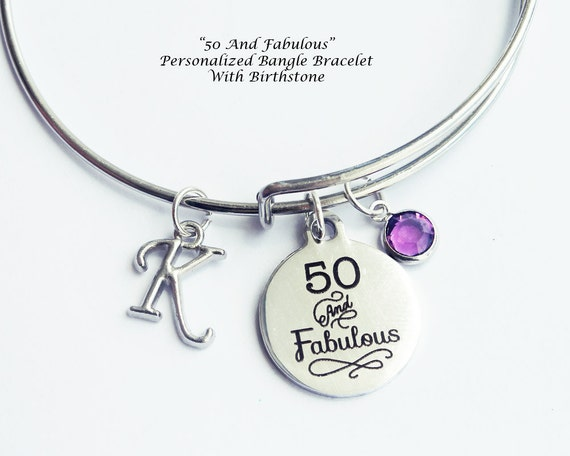 50th Birthday Gift For Women Fiftieth