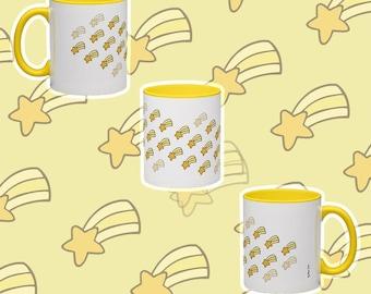 Falling Stars Mug (yellow)
