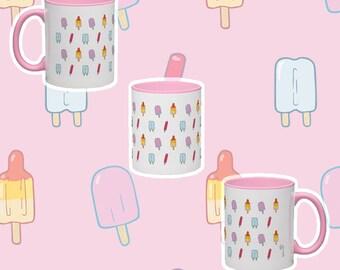 Popsicles Mug (pink)
