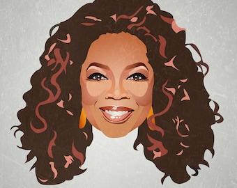 Minimalist Print inspired by Oprah