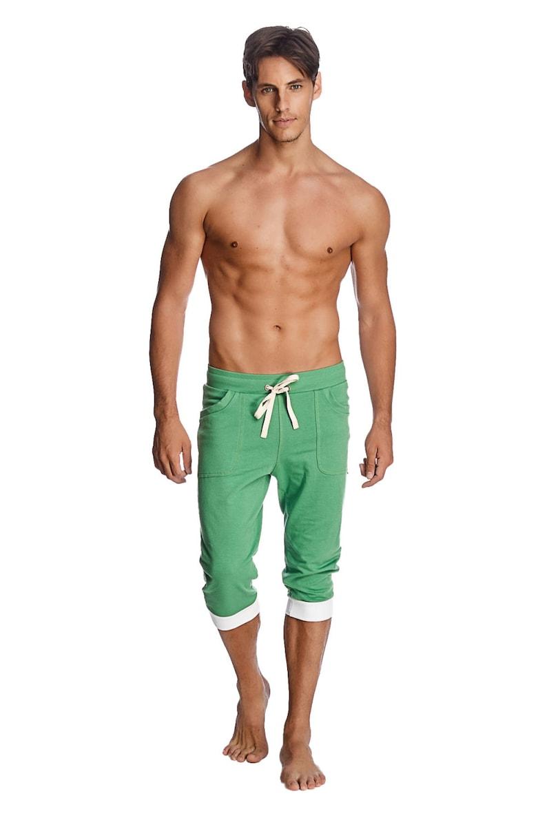 Mens Cuffed Yoga Pants