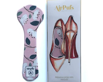 Peonies Pink Airpufs High Heel Insoles