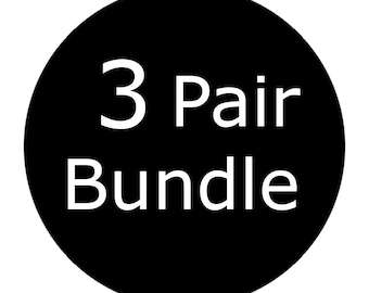 3 Pair Bundle
