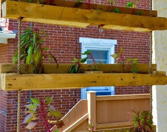 Wall Planter Box Etsy