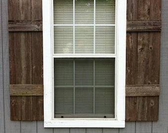 Wood shutters | Etsy
