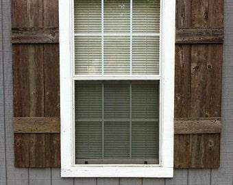 Rustic shutters   Etsy