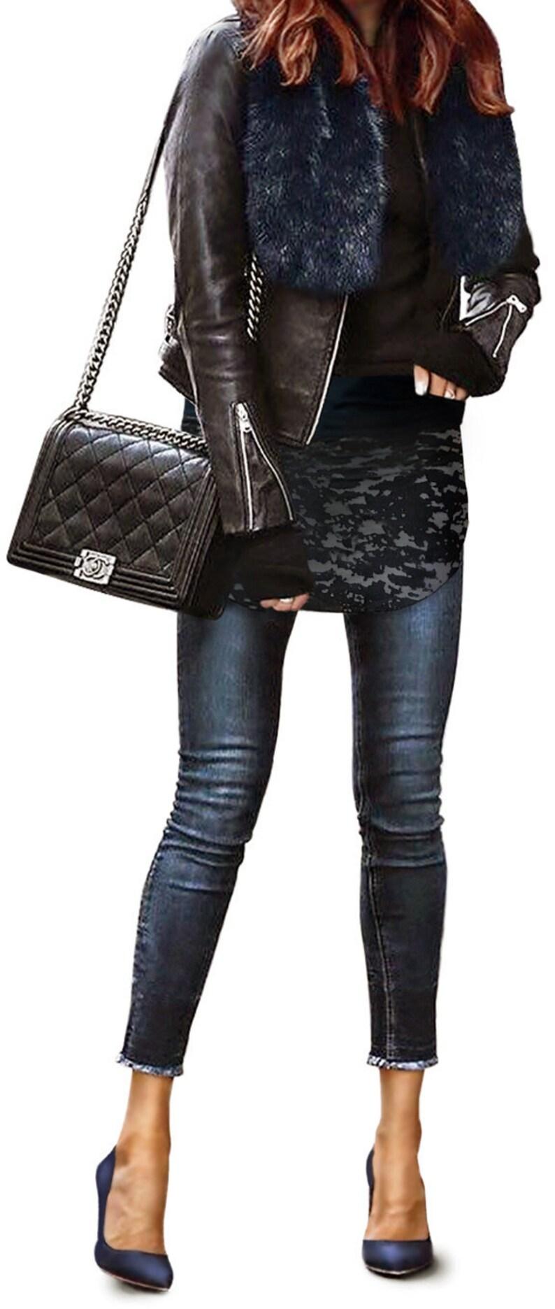 Isabella Wrapalini Booty Shawl  shirt extender pixie skirt image 0