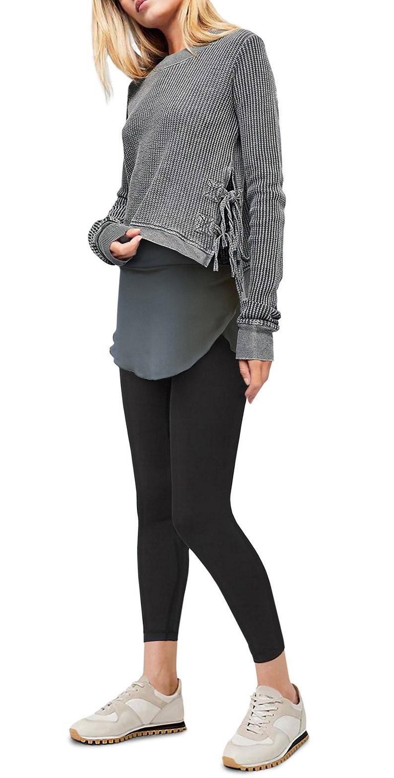 Granite Isabella Booty Shawl  shirt extender pixie skirt image 0