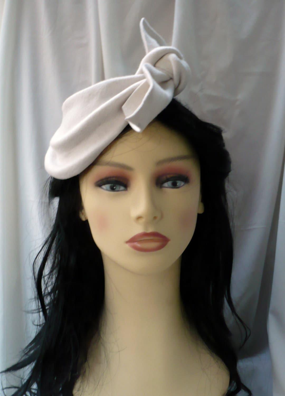 50s Style Hat 50s fascinator 50s hat Vintage style hat  81e1475c47c