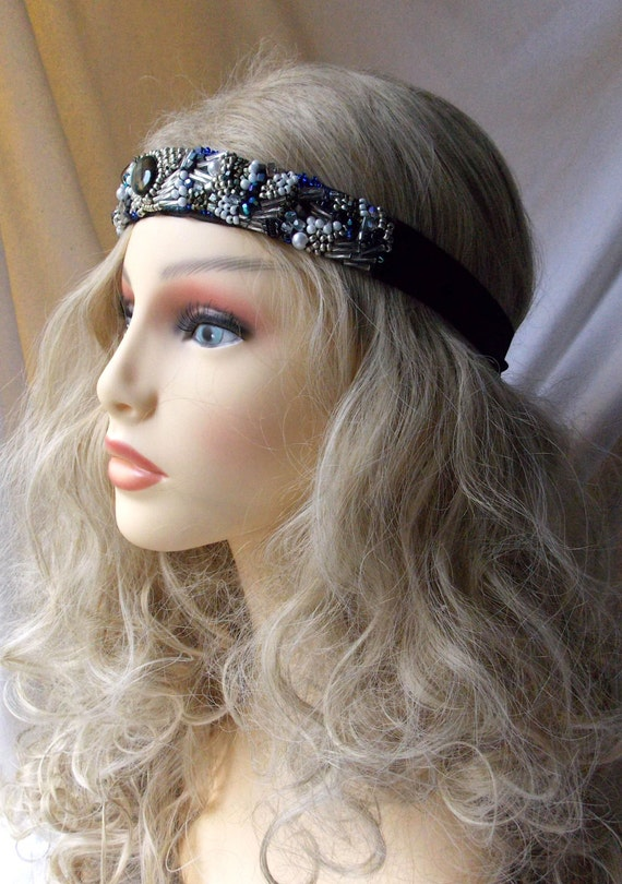 Beaded Headband Boho Headband Boho Chic Womens Headbands  f12151063a7