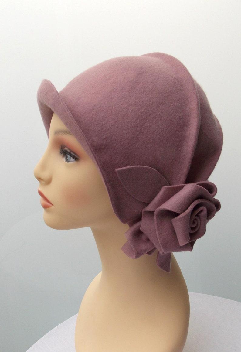 494158f0672b9 Sombrero cloché Sombrero años 20 Sombrero vintage Sombrero