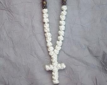 komboskini/orthodox prayer rope 50 knot- ivory