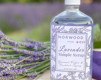 Lavender Syrup, Coffee Syrup, Cocktail Syrup