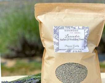 Dried lavender flower buds & wedding toss