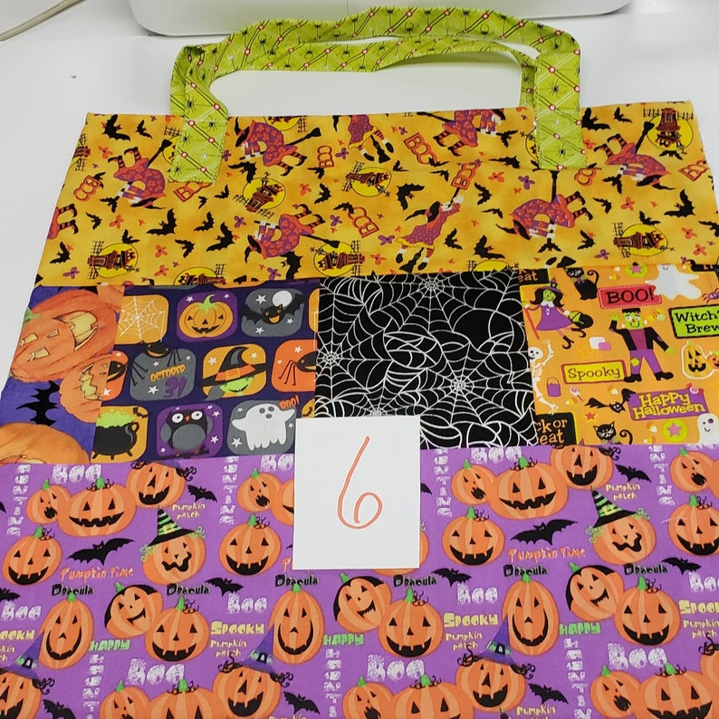 Halloween Personalized Trick or Treat bags