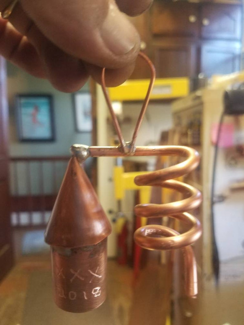 Copper Moonshine Still Christmas Ornament by Walnutcreek