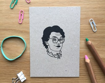 Barb, stranger things, postcard, mix and match set