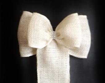 Shabby Chic Wedding Bows