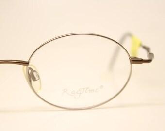 f817031654 Oval Glasses Unused New Old stock Vintage Eyewear 1990s Vintage Glasses  Unique