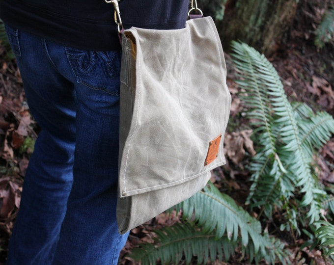 PNW Bushcraft Harvest Bag Perfect for the City but made for your Adventures by PNW Bushcraft