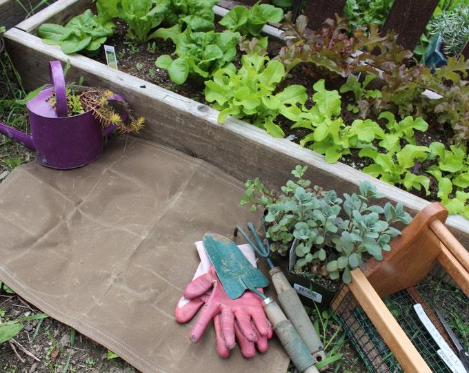 Gardener's Waxed Canvas Ground Cloth by PNWBushcraft