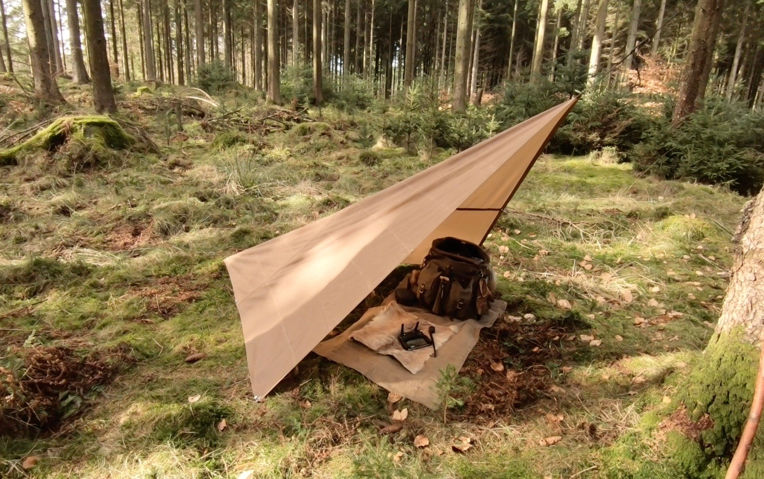 huge selection of 2d007 35a0a The Cimbrer Tarp for Bushcraft, Outdoor Gear, Camping ...