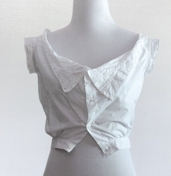 Edwardian corset cover