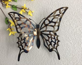 Metal Butterfly   Metal Art Butterfly  Home Decor   Metal Art   Wall  Hangings