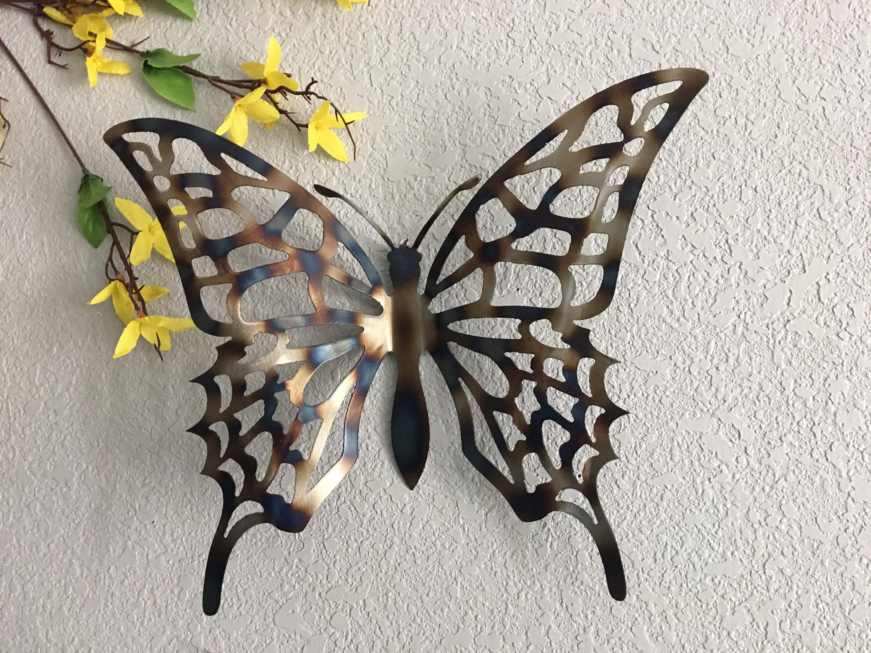 Metal Butterfly Art Home Decor