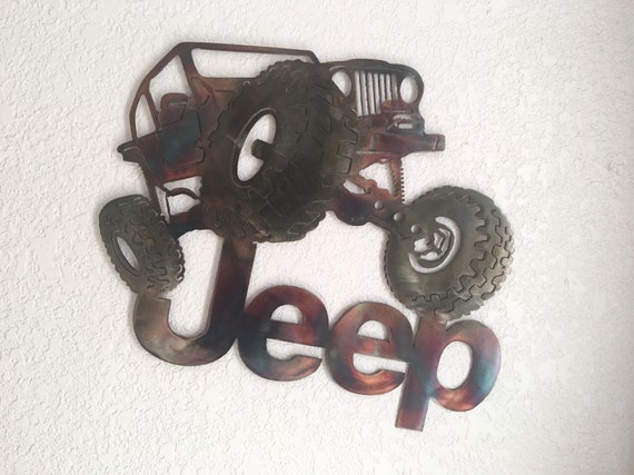 Jeep crawler  - 4 x 4  home decor