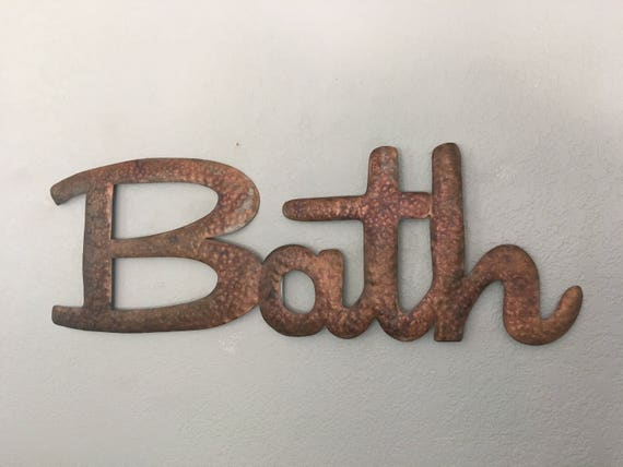 Bath - Bath Sign - Wall Decor - Wall Art