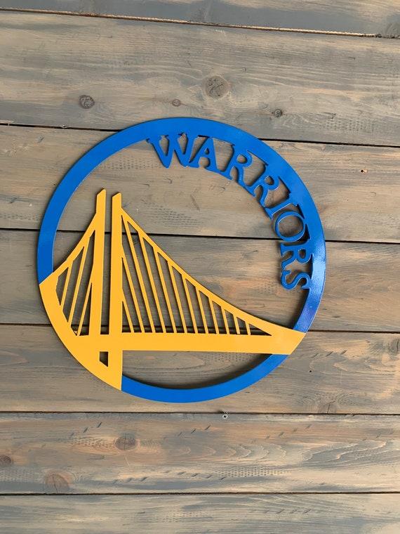 golden state warriors metal wall art home decor