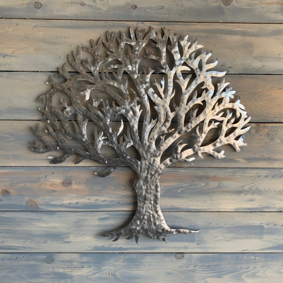 Stainless steel Tree  -   Tree   - Home Decor Tree     -     Metal Wall Art