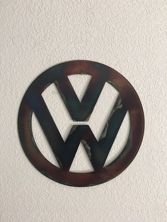 VW   -  VoltsWagon  vw sign   Home deco metal wall hanging