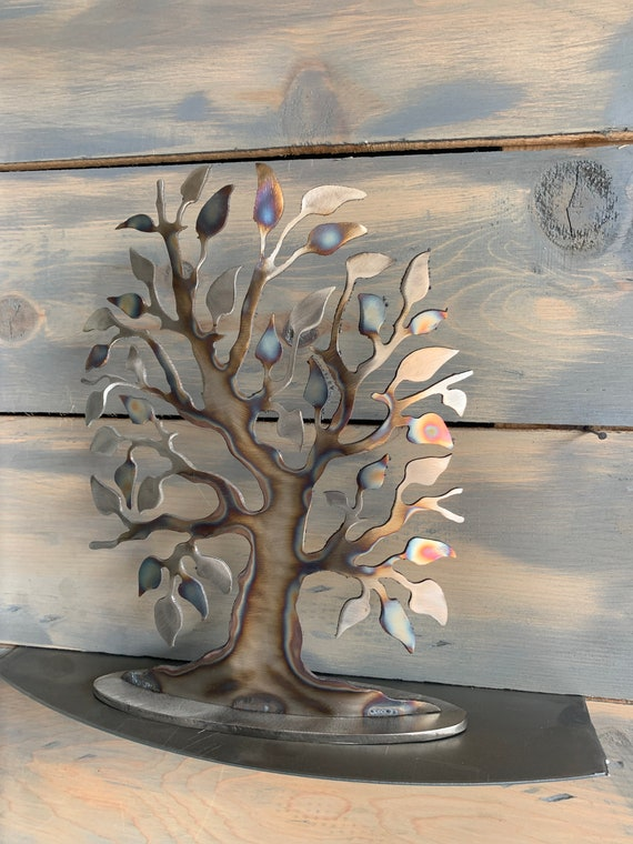 Stainless steel Tree - Metal Art - Tree Sculpture - Room Decor - Stainless Tree