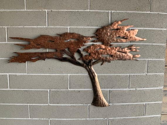 Cypress Tree of Metal - Metal Tree - Beautiful Ocean Cypress