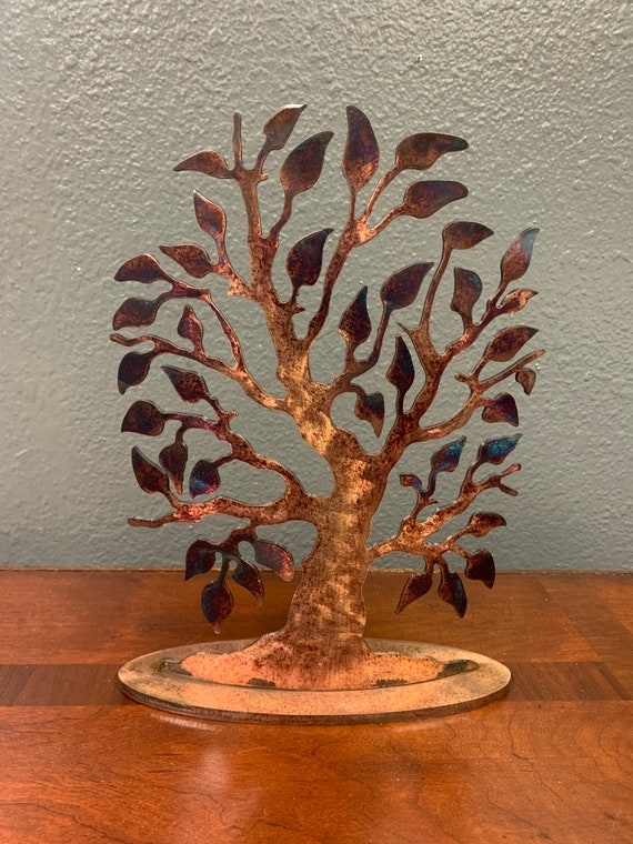 Metal Tree - Metal Art - Tree Sculpture - Room Decor - Rustic Tree