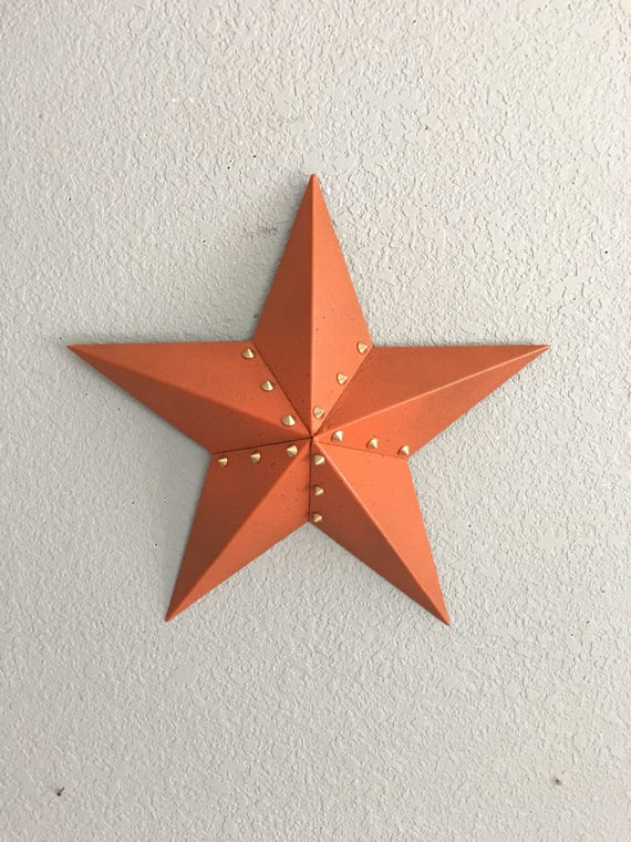 Star -Five point star -  Steel Star - Home Decor - Wall Art - Barn Star - Country Decor - Country Star