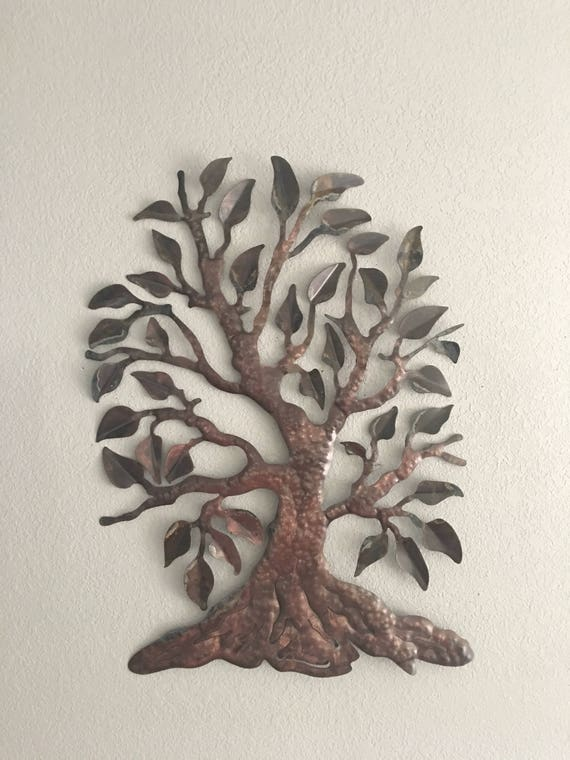 Metal Tree - Home Decor - Wall Hanging - Metal Art