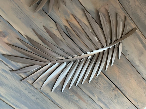 Palm Leaf  -  Metal Plam  - Metal Art  - Home Decor -