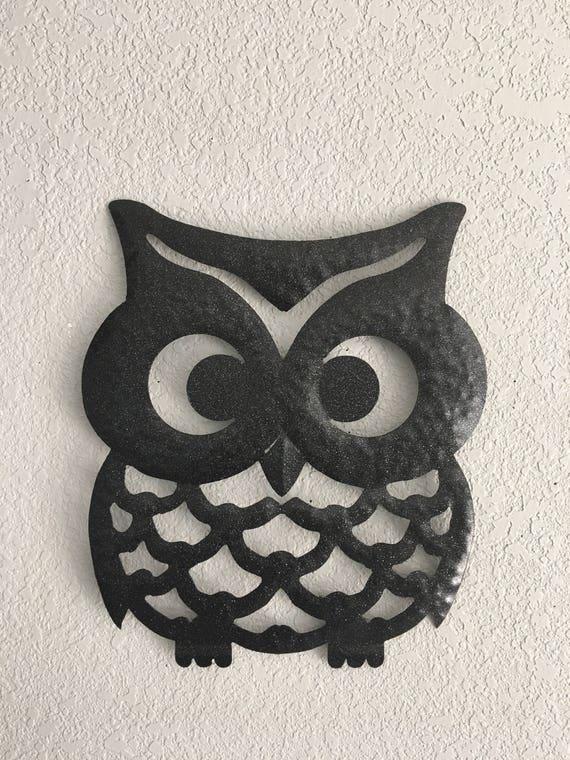 Wise Ol Owl  - Owl -  Wall Decor  -  Metal Art - Wall Hanging