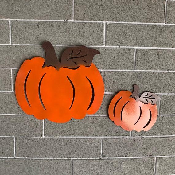 Metal wall art pumpkin Home Decor