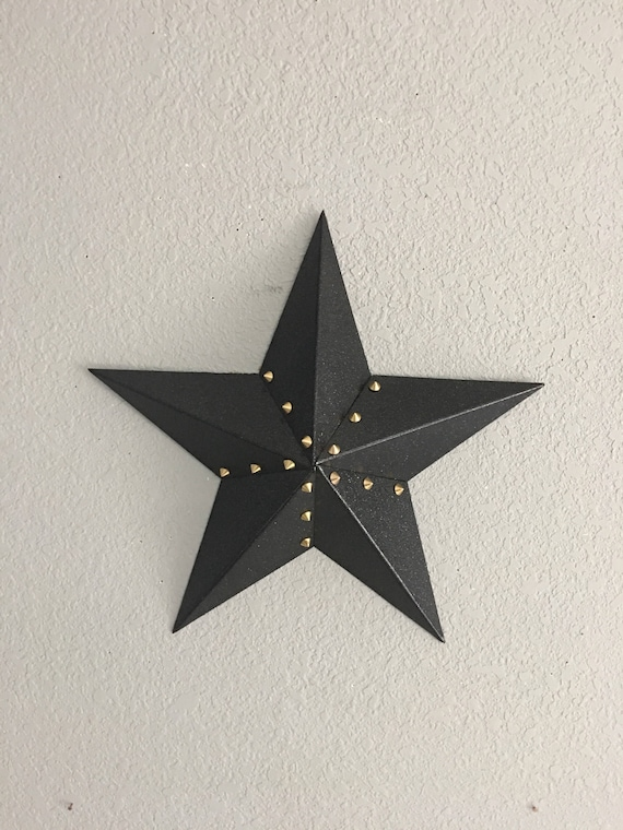 Star Five Point Star Steel Star Home Decor Wall Art Barn Star Country Decor Country Star